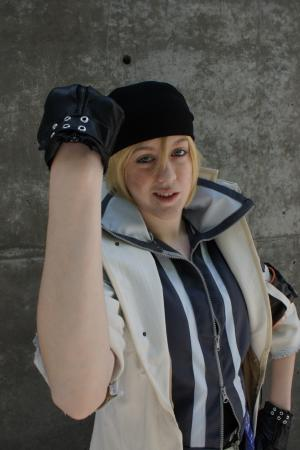 Snow Villiers from Final Fantasy XIII worn by Leelee