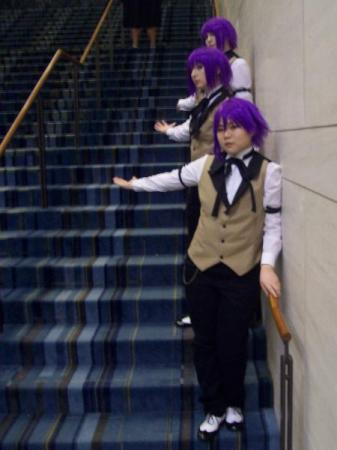 Timber from Black Butler worn by fin fish