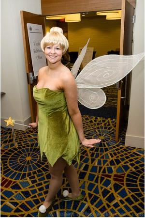 Tinker Bell from Peter Pan worn by auburnkt
