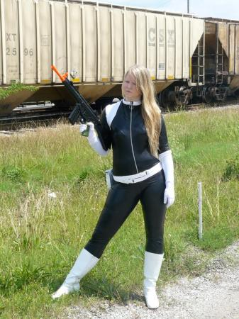 Sharon Carter from Captain America worn by auburnkt