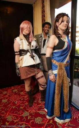 Lightning from Final Fantasy XIII worn by auburnkt