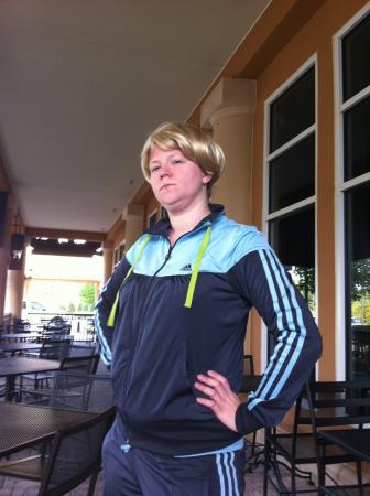 Sue Sylvester from Glee worn by auburnkt