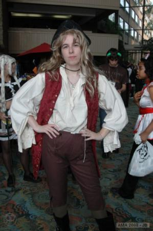 Elizabeth Swann from Pirates of the Caribbean worn by Kara Dennison