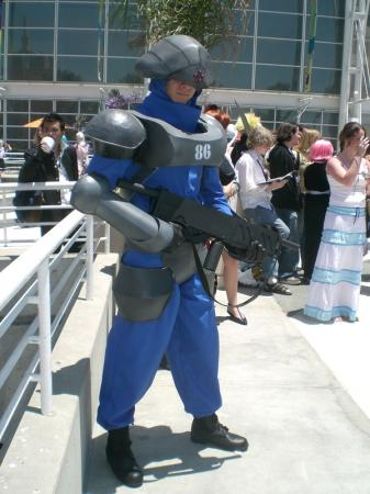 Galbadian Soldier from Final Fantasy VIII worn by Cobheran