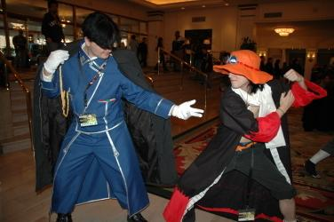 Roy Mustang from Fullmetal Alchemist worn by Captain Wakusei Prince