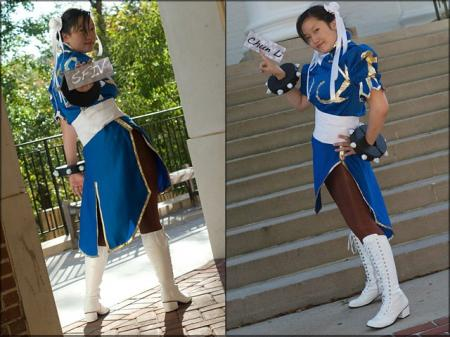 Chun Li from Street Fighter II worn by Lockheart