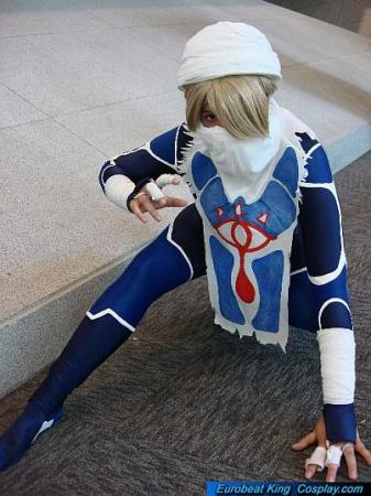 Sheik from Legend of Zelda: Ocarina of Time