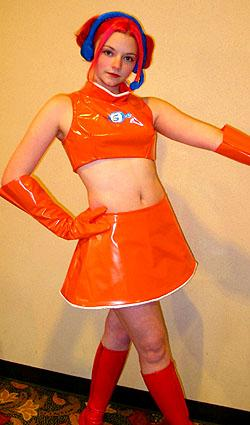 Ulala from Space Channel 5 worn by Oneautumnday Costuming