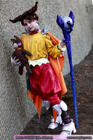 Mewt from Final Fantasy Tactics Advance worn by limebarb