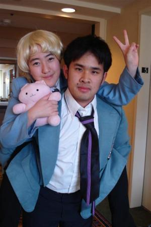 Takashi Morinozuka / Mori from Ouran High School Host Club worn by Kitsune Valentine