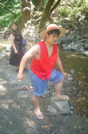 Monkey D. Luffy from One Piece worn by Kitsune Valentine