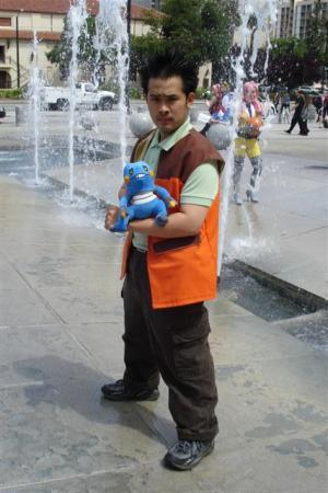 Brock from Pokemon worn by Kitsune Valentine