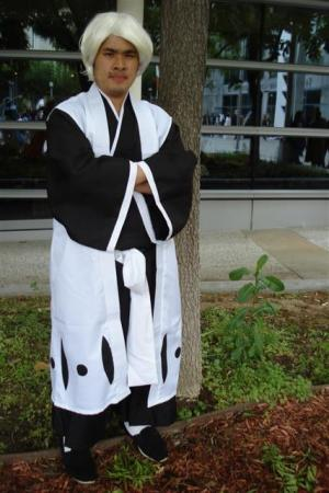 Ichimaru Gin from Bleach worn by Kitsune Valentine