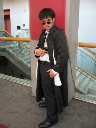Mr. Chan from Black Lagoon worn by Kitsune Valentine