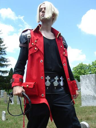 Jonathan Morris from Castlevania: Portrait of Ruin worn by Flexei