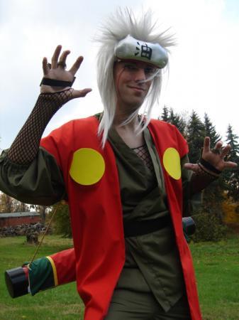 Jiraiya from Naruto worn by Flexei