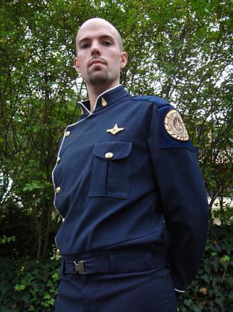 Officer from Battlestar Galactica worn by Flexei