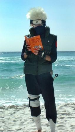 Kakashi Hatake from Naruto worn by Kiba-kun