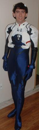 Shinji Ikari from Neon Genesis Evangelion worn by Kiba-kun