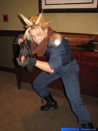 Cloud Strife from Final Fantasy VII: Crisis Core worn by EK