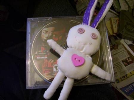 Maya's bunny from Persona 2 worn by Ada