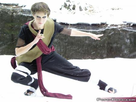 Gaara from Naruto worn by Zan
