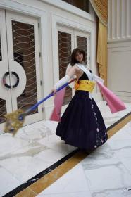 Yuna from Final Fantasy X worn by Cimorene