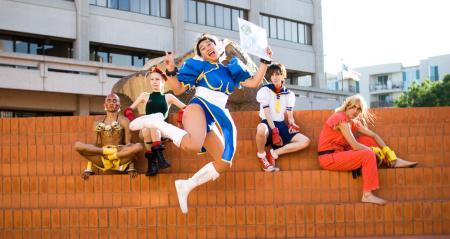 Sakura Kasugano from Street Fighter IV worn by TATTO