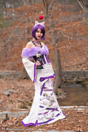 Lulu from Final Fantasy X worn by twinklebat