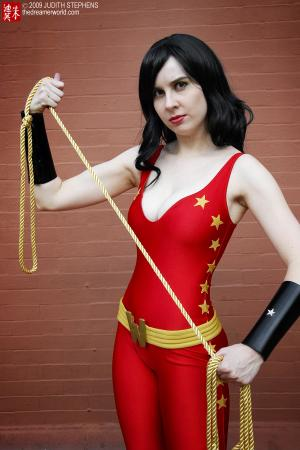 Donna Troy from DC Comics worn by twinklebat