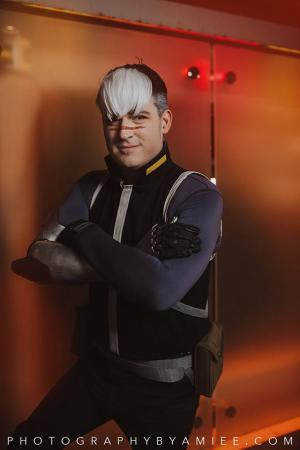 "Takashi ""Shiro"" Shirogane from Voltron: Legendary Defender worn by Sketch"