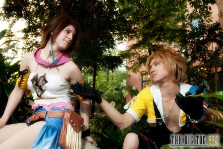 Yuna from Final Fantasy X-2 worn by Blanko