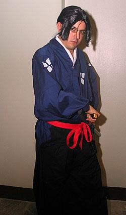 Jin from Samurai Champloo (Worn by OrochiSerge)