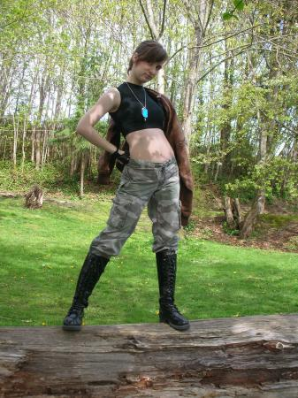 Sonya Blade from Mortal Kombat worn by Lady Thesta