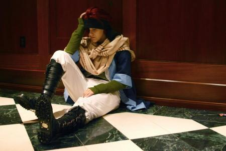 Lavi from D. Gray-Man worn by Lt. Commander Richie