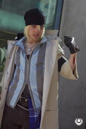 Snow Villiers from Final Fantasy XIII worn by shadownet752