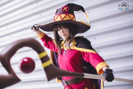 Megumin from Kono Subarashii Sekai ni Shukufuku wo!