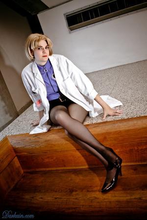 Ritsuko Akagi from Neon Genesis Evangelion worn by Teca