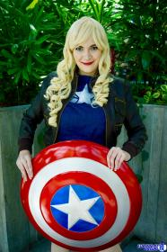 Captain America from Marvel Comics worn by Teca