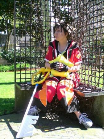 Sora from Kingdom Hearts 2 worn by UviBee