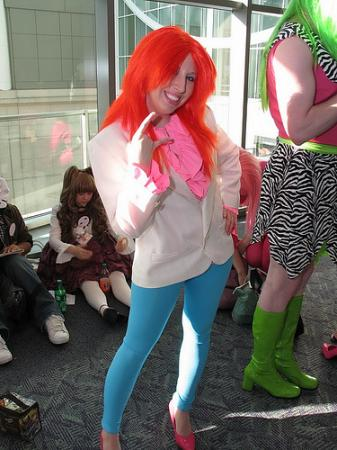 Kimber from Jem and the Holograms worn by UviBee