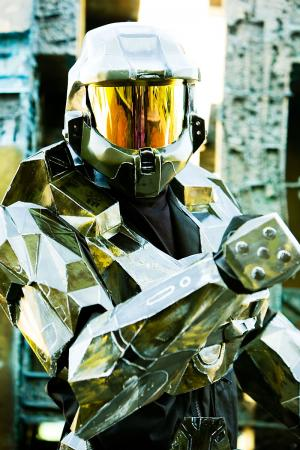 Master Chief from Halo worn by 4ng31