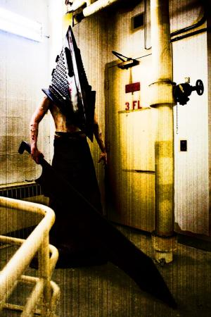 Pyramid Head from Silent Hill: Homecoming worn by Callisto