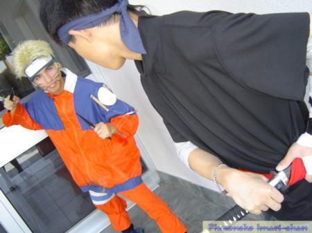 Naruto Uzumaki from Naruto worn by defective naruto