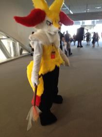 Braixen from Pokemon