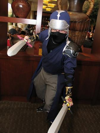 Onion Knight from Final Fantasy Dissidia worn by Oshi