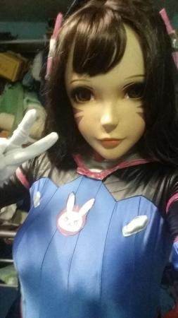 D.Va from Overwatch worn by Oshi