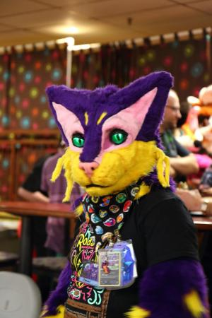Liepard from Pokemon worn by Oshi