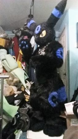 Umbreon from Pokemon worn by Oshi