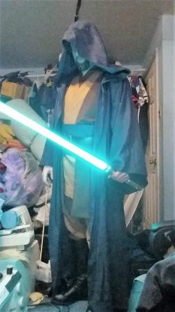 Jedi from Star Wars worn by Oshi